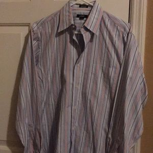 J. Crew long sleeve button down stripe dress shirt